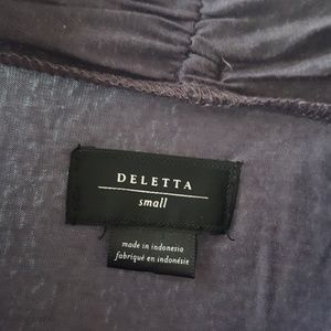 Deletta Sweaters - Deletta lightweight duster cardigan small